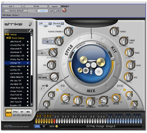 Digidesign Strike