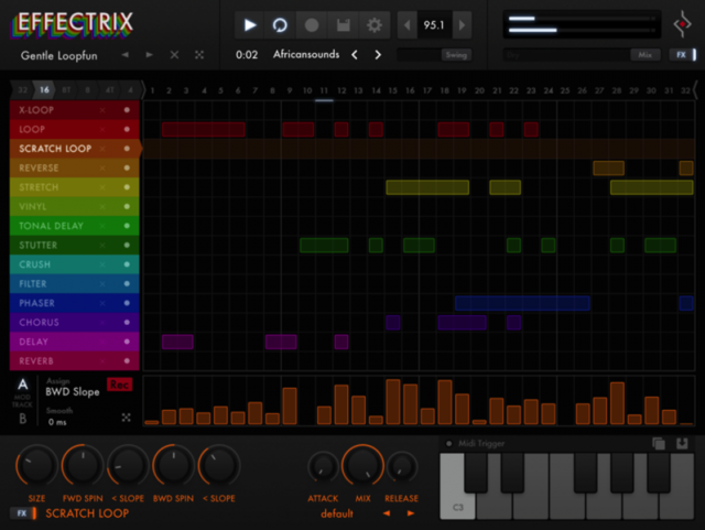 Effectrix para iPad