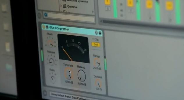 Ableton Live 9 Glue Compressor