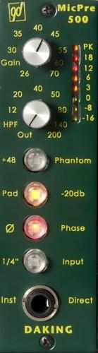 Daking Audio Mic Pre 500