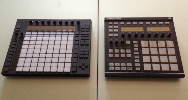 Ableton Push y Maschine