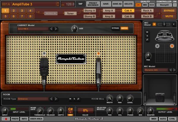 Resultado de imagen de IK Multimedia AmpliTube 3