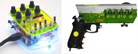MIDI Gun y MIDI Parasite