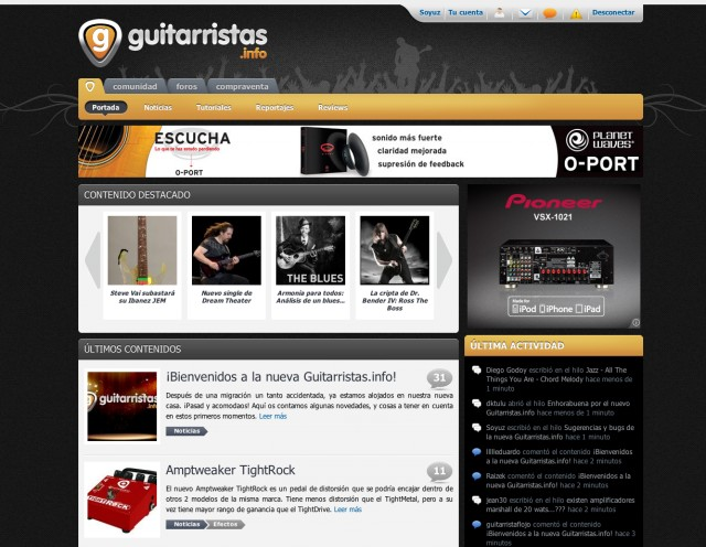Nueva Guitarristas.info