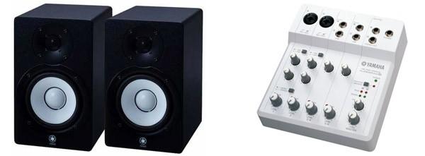 Yamaha HS50M y Audiogram 6