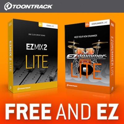 Toontrack EZMIX2 y EZDrummer Lite