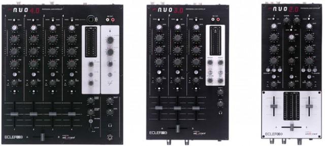 Ecler NUO 2.0, 3.0 y 4.0