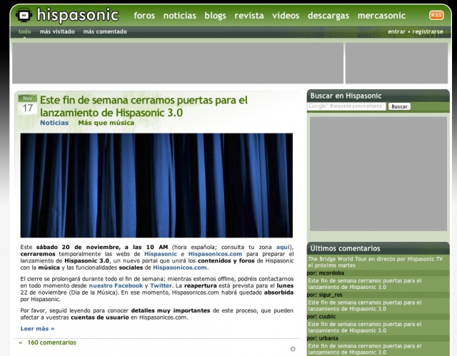 Hispasonic 2.0
