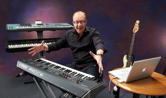 Bert Smorenburg y el Yamaha MOX6