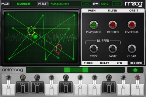 Animoog iPhone