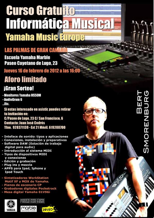 Yamaha Las Palmas 2012