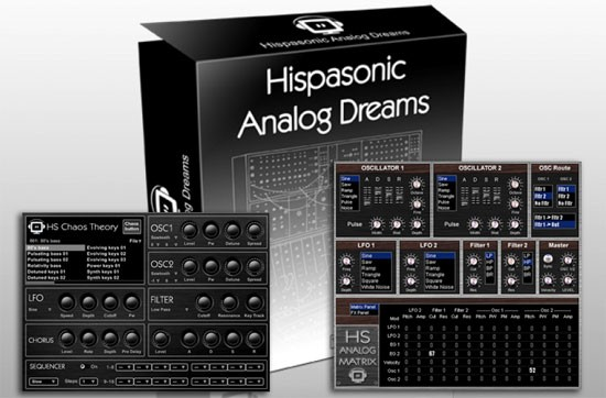 Hispasonic Analog Dreams, Chaos Theory y Analog Matrix