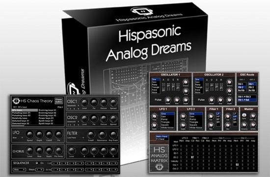 Hispasonic Analog Dreams, Chaos Theory y Analog Matrix