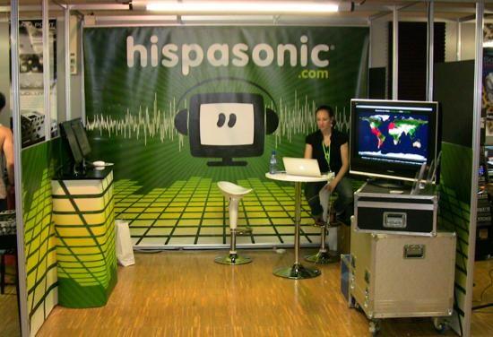 Stand de Hispasonic en el Sónar 2009