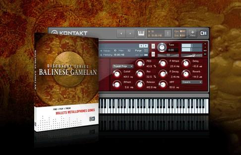 0RGan1c: Native Instruments Balinese Gamelan Update 1.1.0 KONTAKT Mac/PC screenshot
