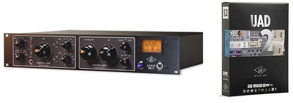 Universal Audio LA-610 MkII y UAD2 Duo