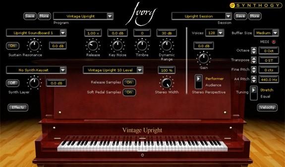 Ivory Upright Pianos