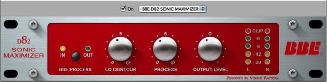 BBE D82 Sonic Maximizer