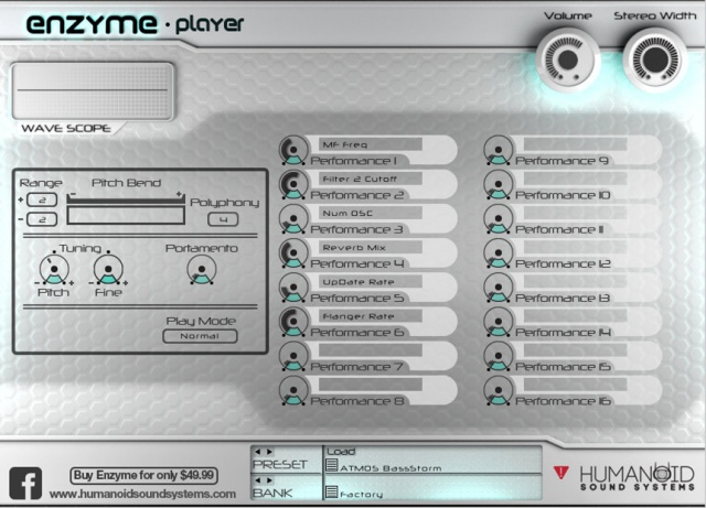 Enzyme Player