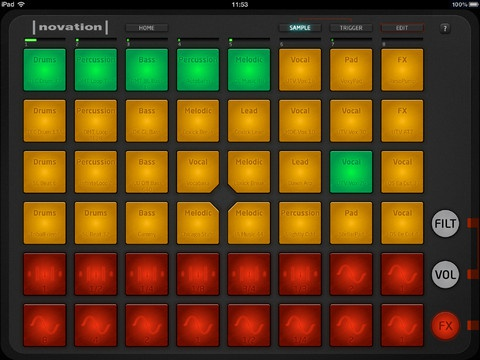 Novation Launchpad app