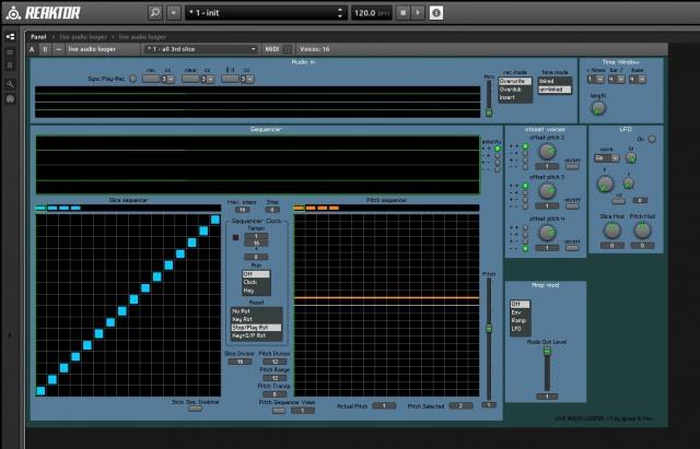 Live Audio Looper para Reaktor