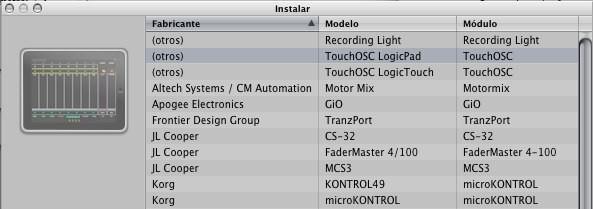 Logic 9.1.2 control OSC iOS