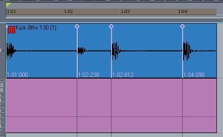 Audiosnap pistas