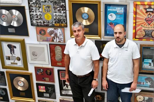 Mariano Pérez y Abdón Hervás