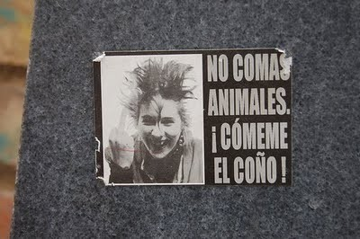 punk vegetariano