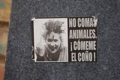punk vegetariano