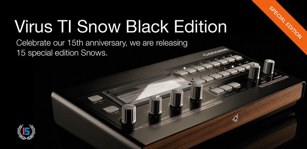 Virus TI Snow Black Edition