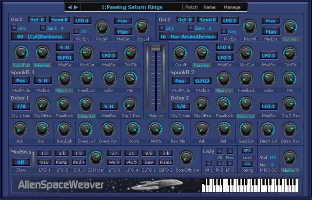 Alien Space Weaver Pro