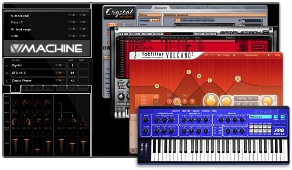SM Pro Audio V-Machine software
