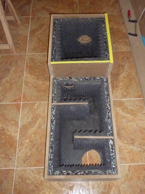 caja de ventilación activa con extractor