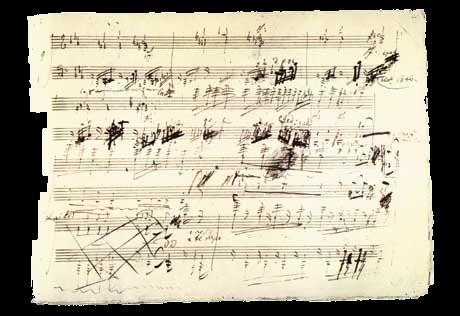 Manuscrito de Beethoven