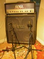 Micrófonos y amplificador