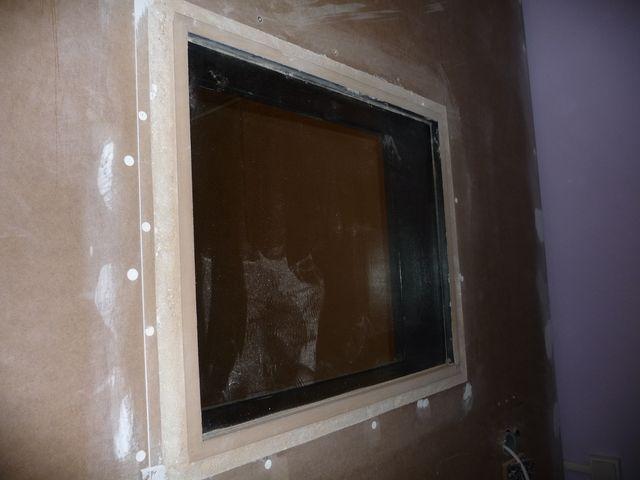 ventana de bricosound empotrada