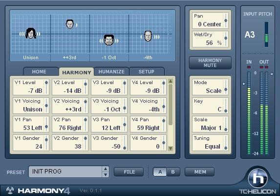 TC Helicon Harmony4