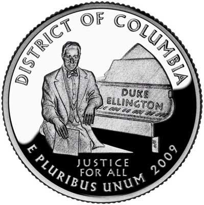 duke ellington moneda