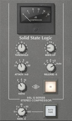 SSL G Bus Compressor UAD