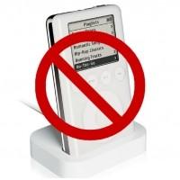 ¿iPod prohibido?