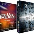 Colecciones de loops Pure Live Breaks Vol. 2y DNB Breaks