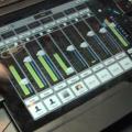 Un vistazo a la mesa Mackie DL1608, controlada por iPad