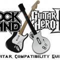 Guía de compatibilidad Guitar Hero y Rock Band