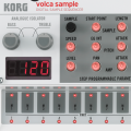 Korg Volca Sample, un secuenciador de samples con toque analógico