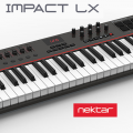 LX88: Nektar amplía a 88 teclas su gama Impact