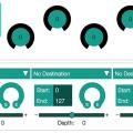 Novation Circuit cuenta ahora con un editor de controles macro