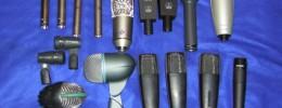 Uso de micrófonos: batería