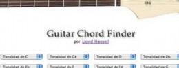 Buscador de acordes de guitarra