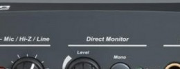 Interfaz de audio E-MU Tracker Pre